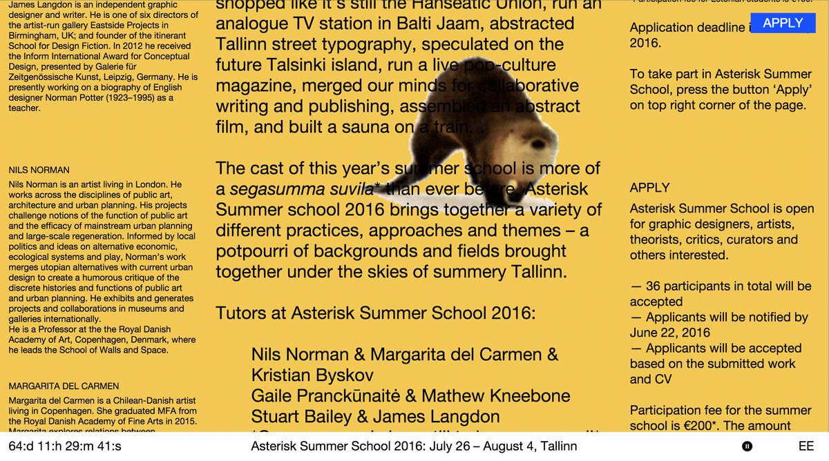 Asterisk Summer School 2016